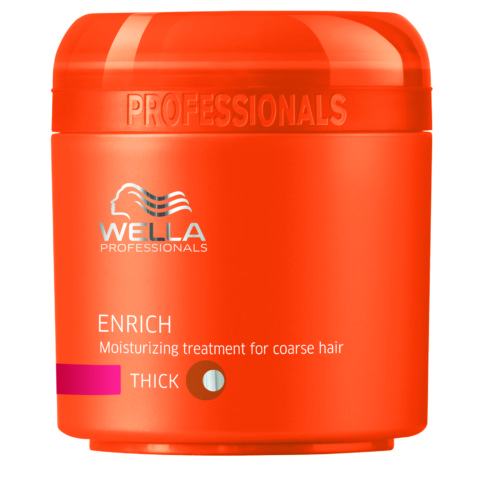 wella enrich mascarilla hidratante para cabellos gruesos