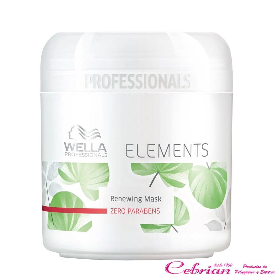 Wella Elements mascarilla