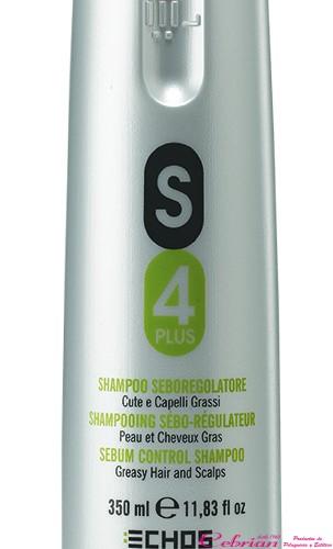 champú anticaspa S4 echosline