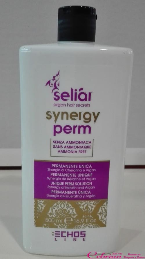 permanente sin amoniaco synery seliar | Cebrián Productos de Peluquería