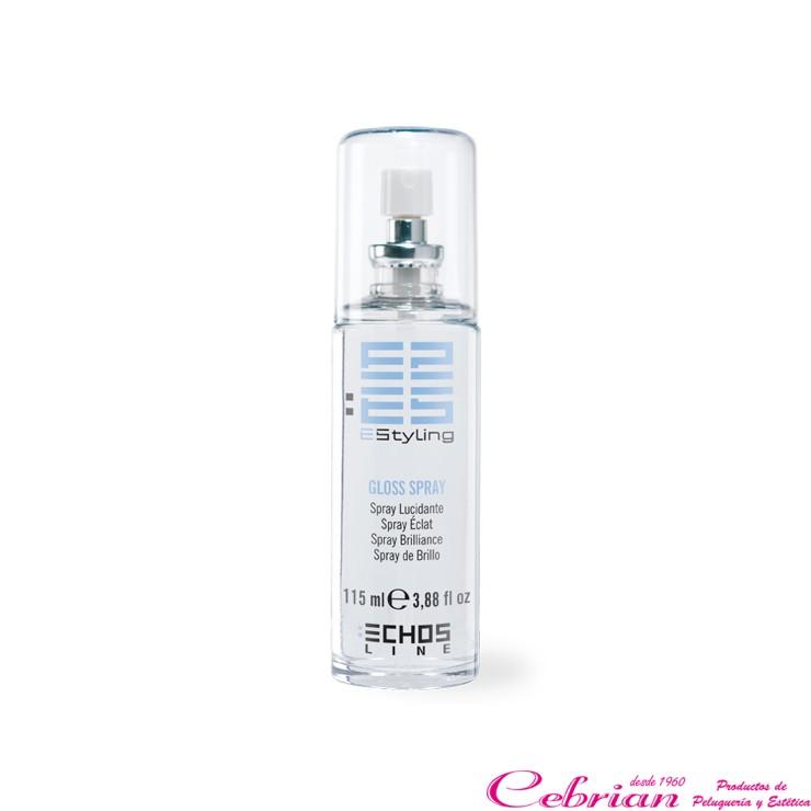 Gloss spray echosline