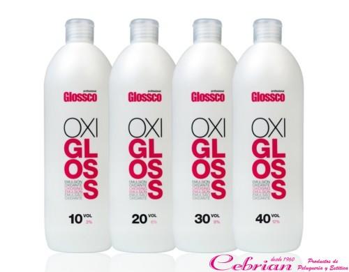 Agua oxigenada Glossco 1000 ml