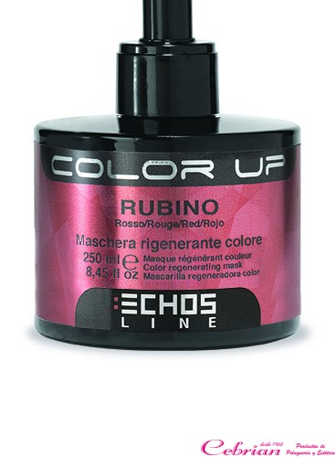 Color Up Echosline 250 ml. Color Rojo