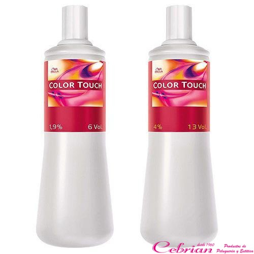 Emulsión Intensiva Wella Color Touch 1000 ml