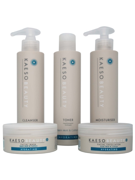 Crema facial hidratante Kaeso 195 ml Piel Seca y Normal