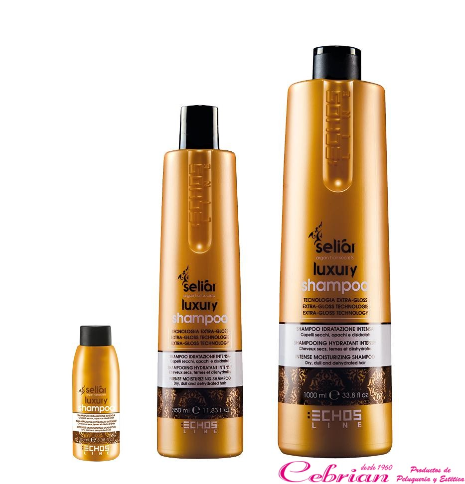 Champú Seliar Luxury Echosline 350 ml