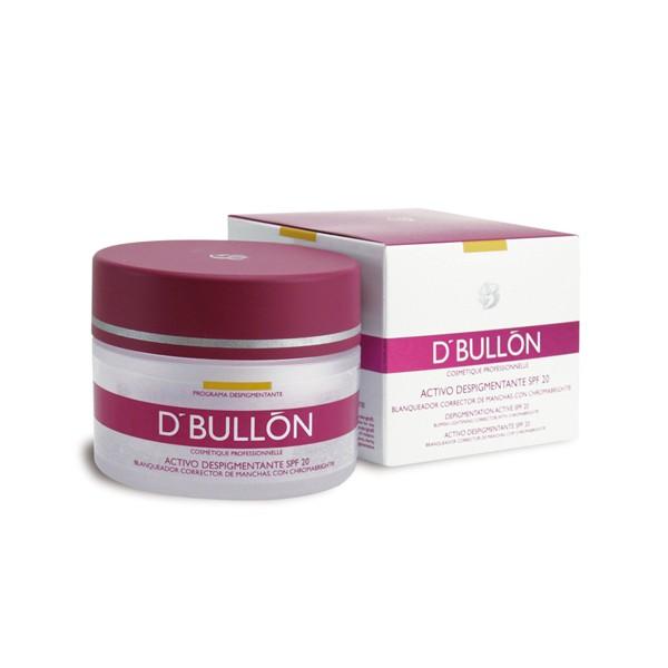 crema activo despigmentante SPF 20 D. Bullón