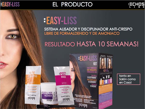 Kit de Alisado Easy-Liss de Echosline