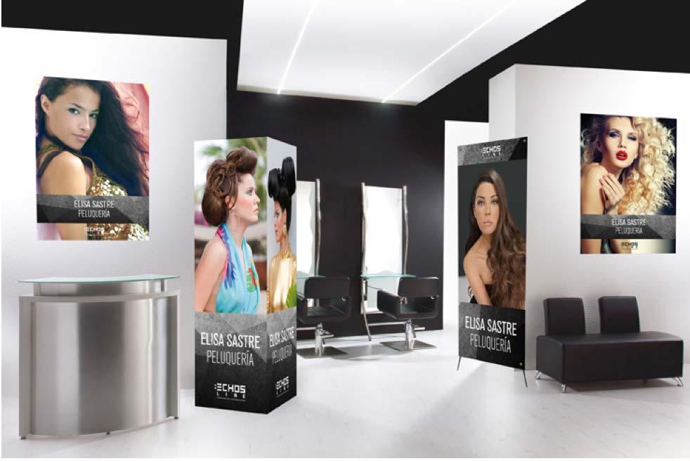 Personaliza la imagen de tu peluquería