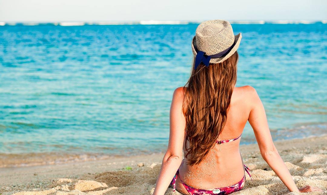 Aceites protectores del cabello para el sol