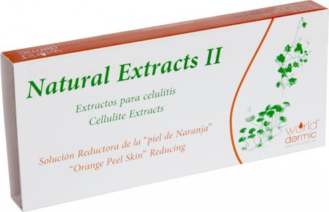 Natural Extracts II, extractos naturales contra la celulitis