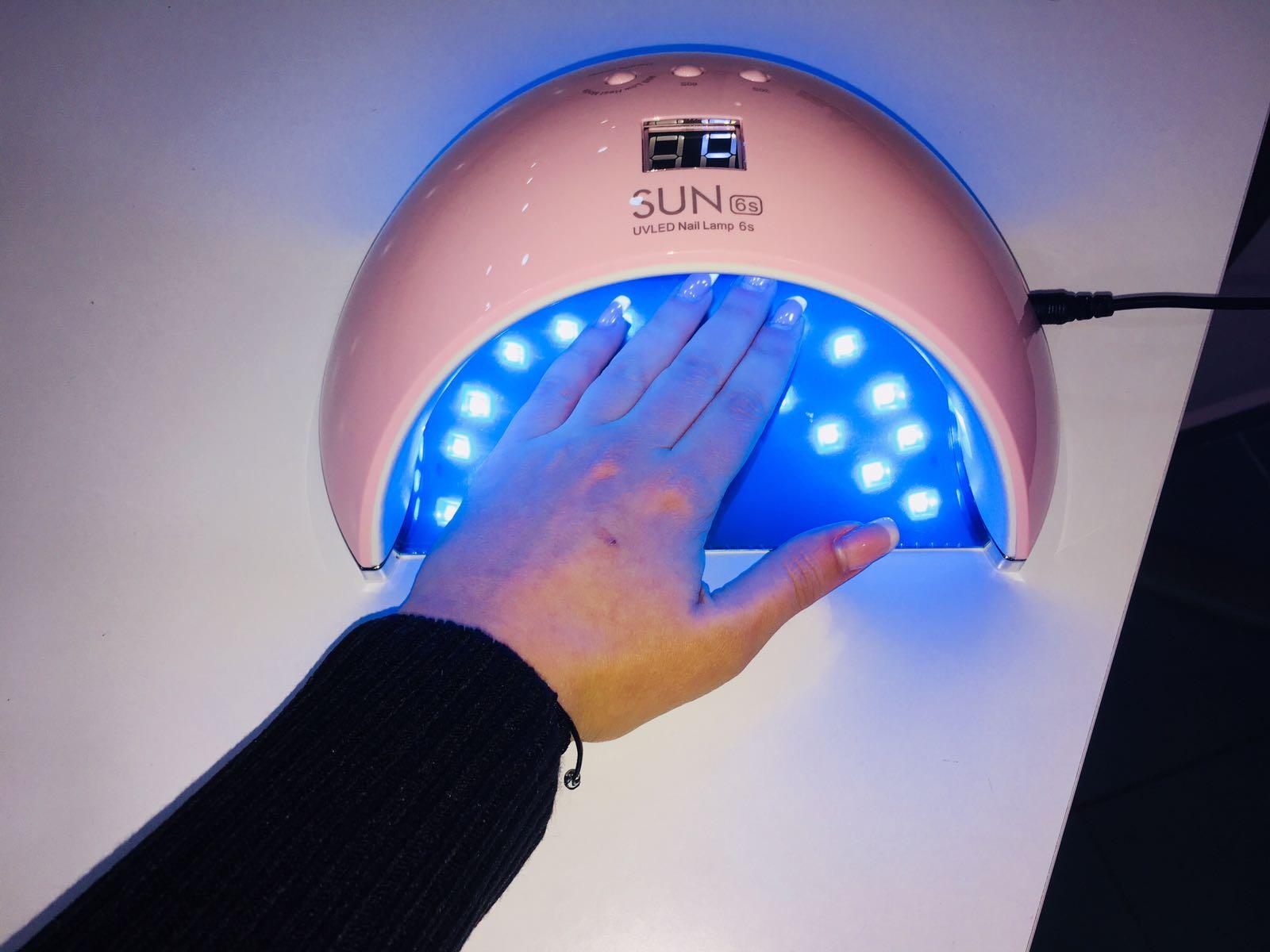 lámpara led 48 w uñas