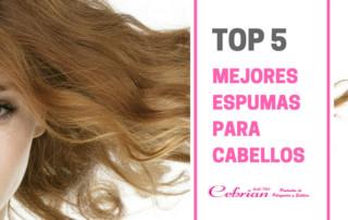 Las 5 mejores espumas para el cabello