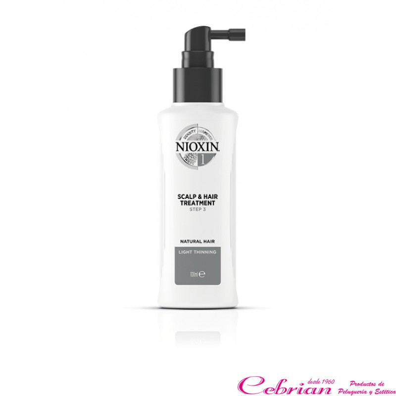nioxin scalp treatment sistema 1 | Cebrián Productos de Peluquería Online