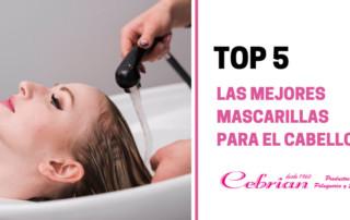 Top 5 mejores mascarillas para el cabello