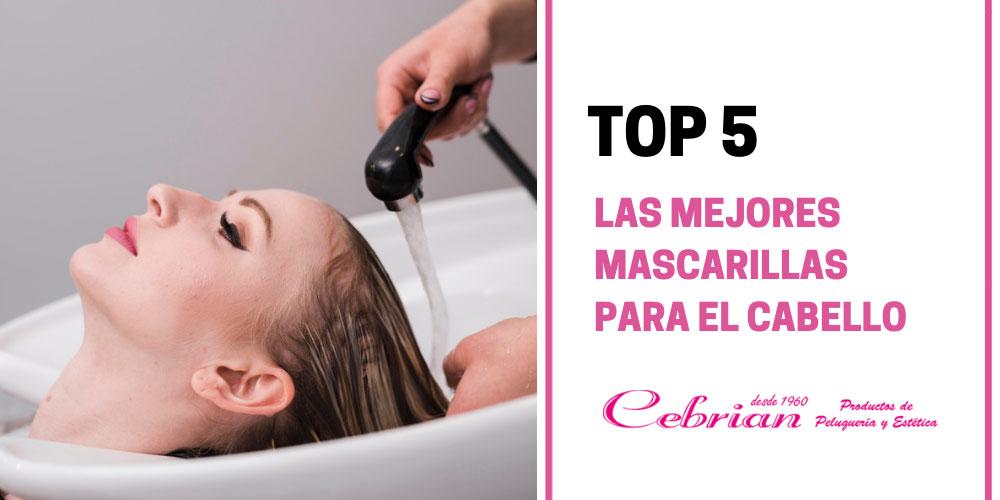 Top 5 mejores mascarillas para el cabello | Cebrián Tienda de peluquería online